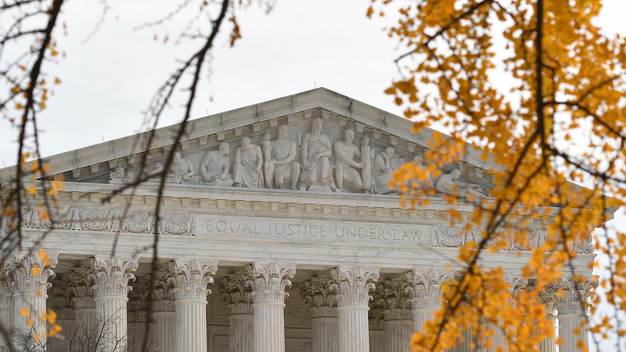 The US Supreme Court building is seen on December 7.