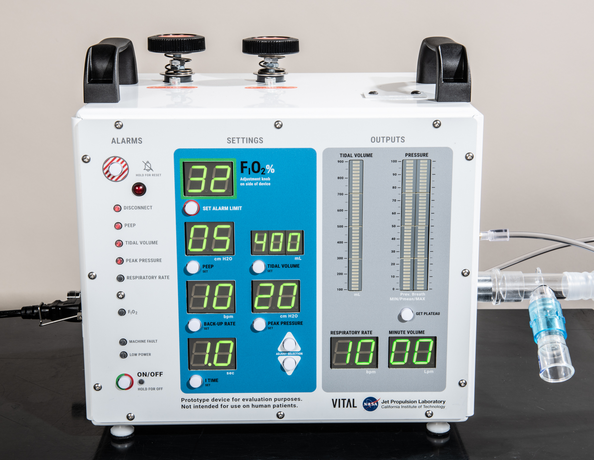 VITAL is a new high-pressure ventilator developed by NASA and tailored to treat coronavirus patients.