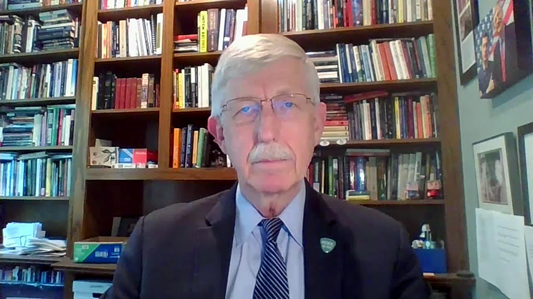Dr. Francis Collins, the director of the National Institutes of Health