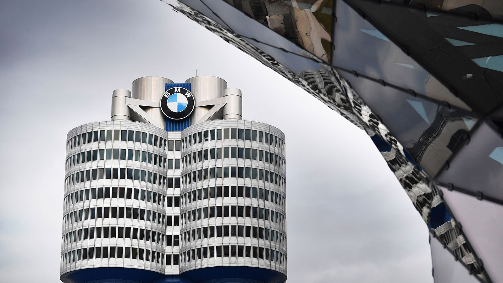 The BMW corporate headquarters is seen in this file photo in Munich.