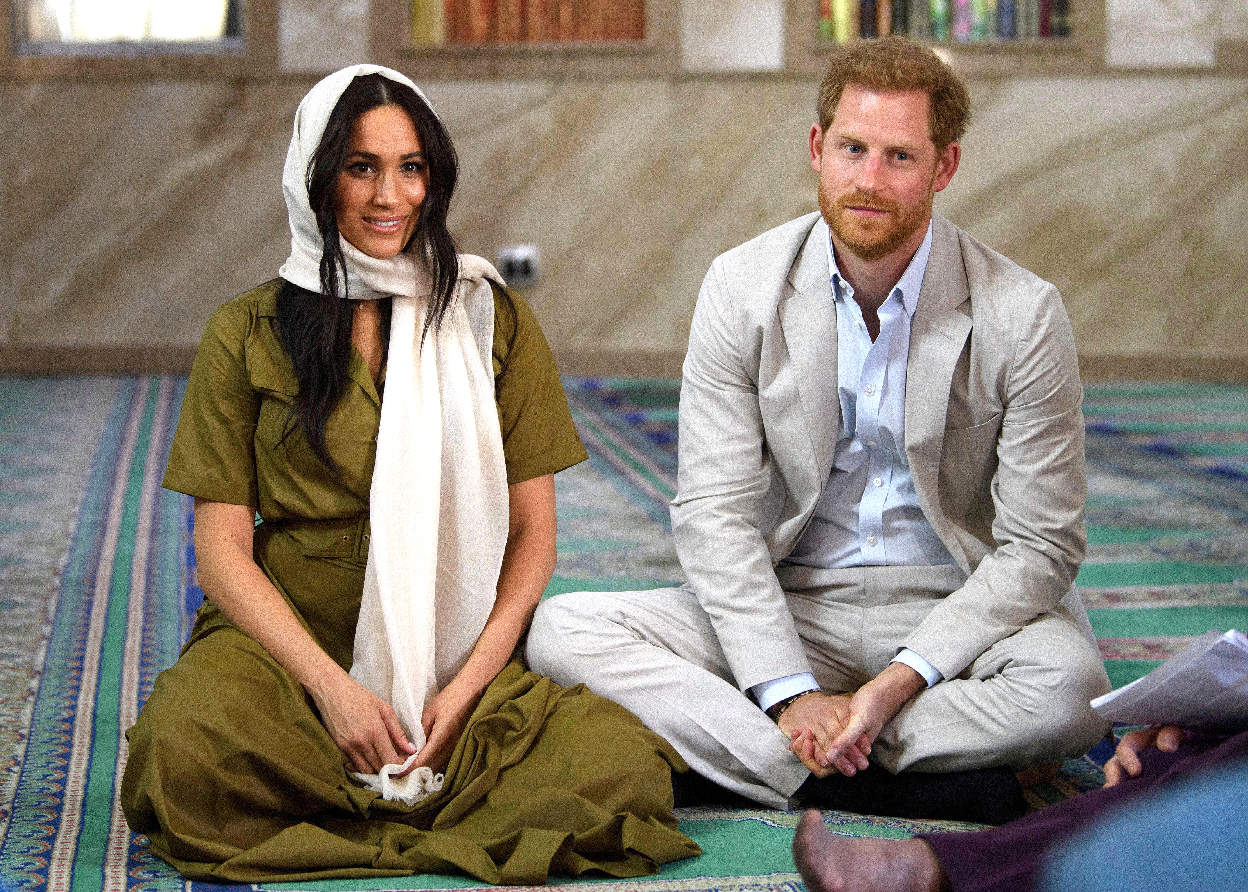 Meghan and Harry visited Auwal Mosque, the country's oldest masjid, on Tuesday during their royal tour of South Africa