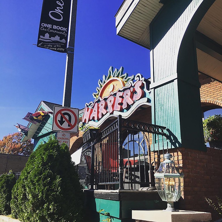 A photo of Harper's Restaurant and Brewpub posted to the bar's Instagram account.
