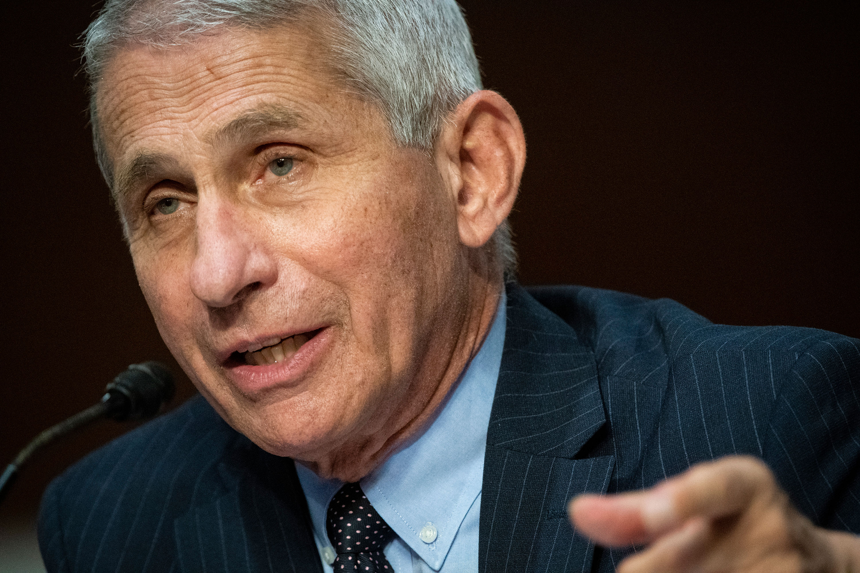 Dr. Anthony Fauci speaks on June 30.