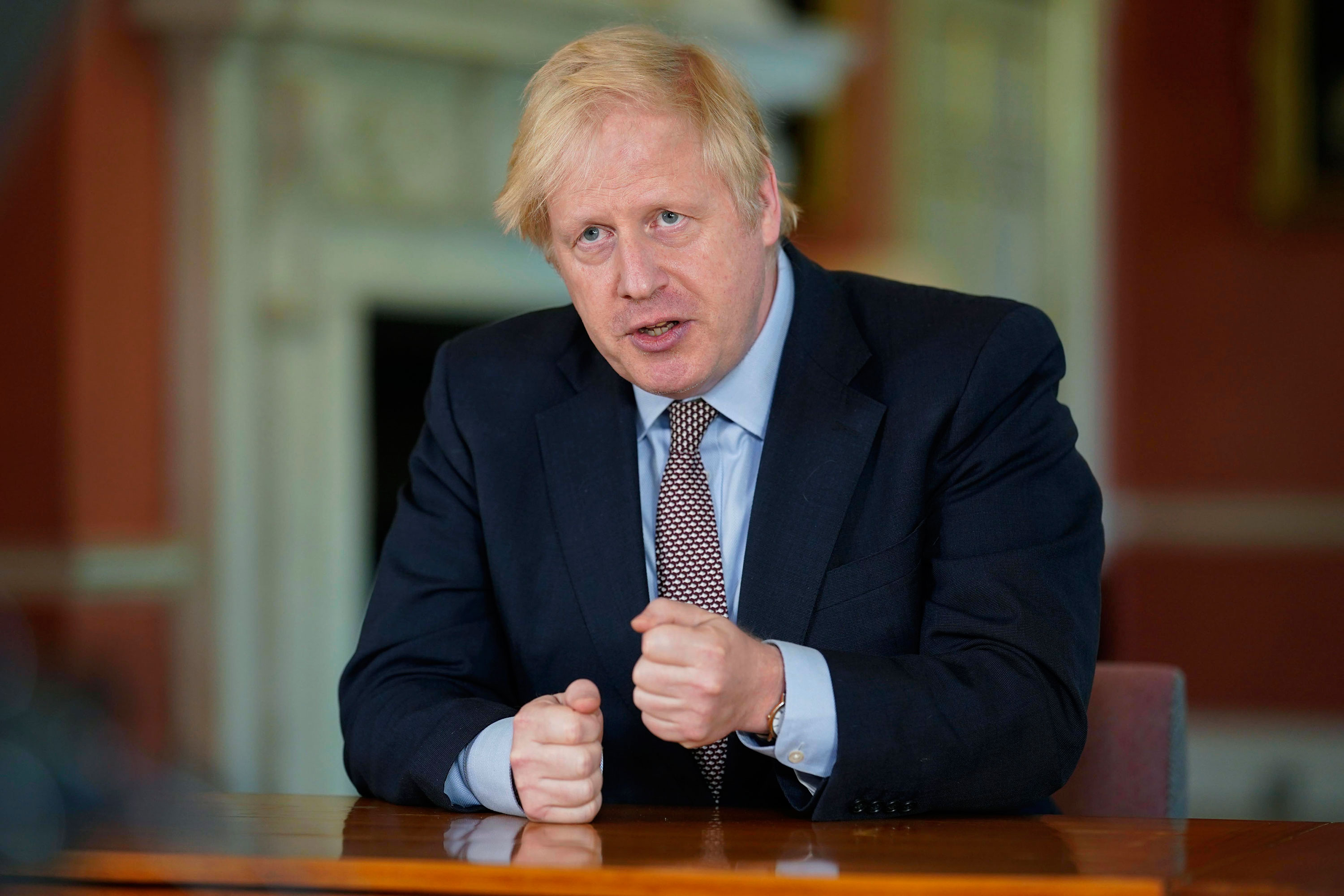 """UK Prime Minister Boris Johnson said the new system would be run by a """"new joint biosecurity center."""""""