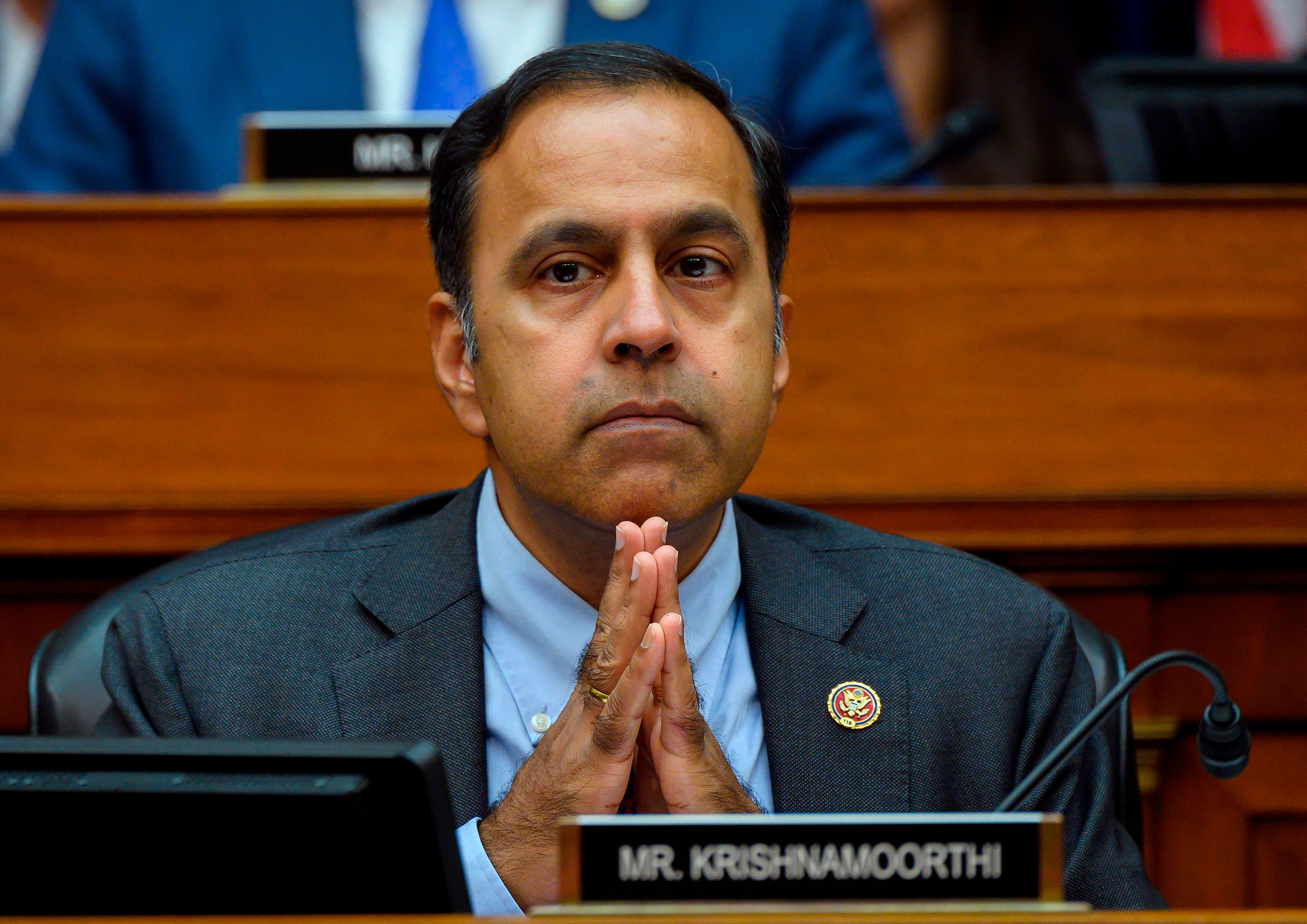 Rep. Krishnamoorthi in September.