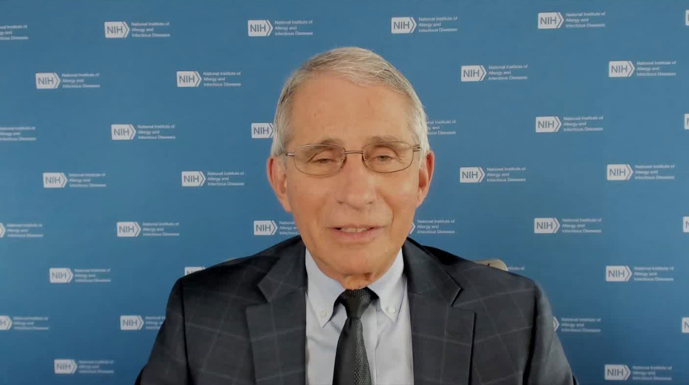 "Dr. Anthony Fauci on CNN's ""New Day"" on October 5."