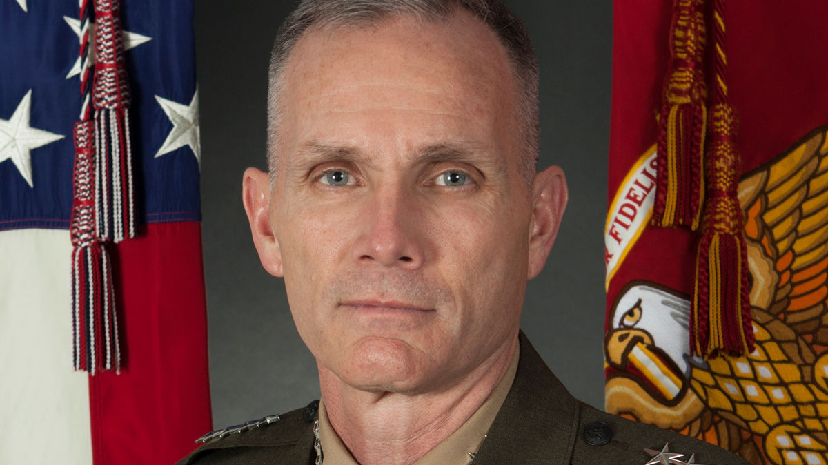 Official Photo of the Assistant Commandant of the Marine Corps Gen. Gary L. Thomas.