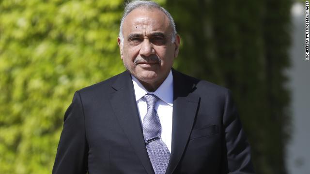 Iraqi Prime Minister Adil Abdul Mahdi