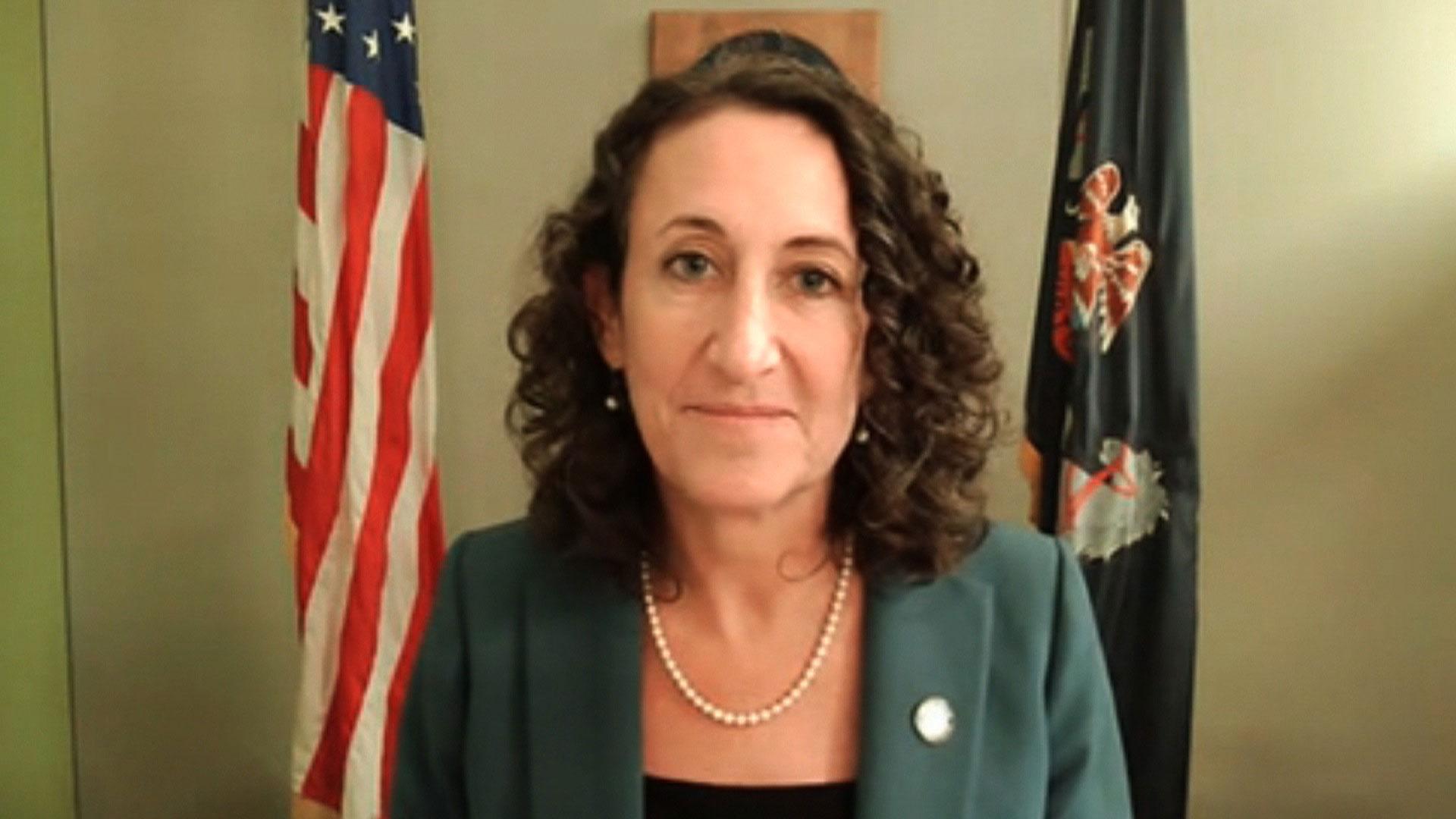 Pennsylvania Secretary of State Kathy Boockvar speaks with CNN on November 4.