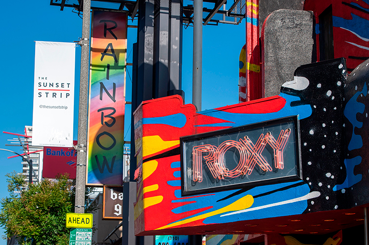 The Roxy in Los Angeles is one of the venues owned by AEG Presents.