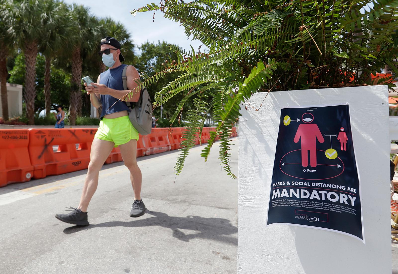 Kỷ lục mới của Hoa Kỳ về tổng số ca coronavirus trong một ngày cao nhất được thiết lập ở Florida