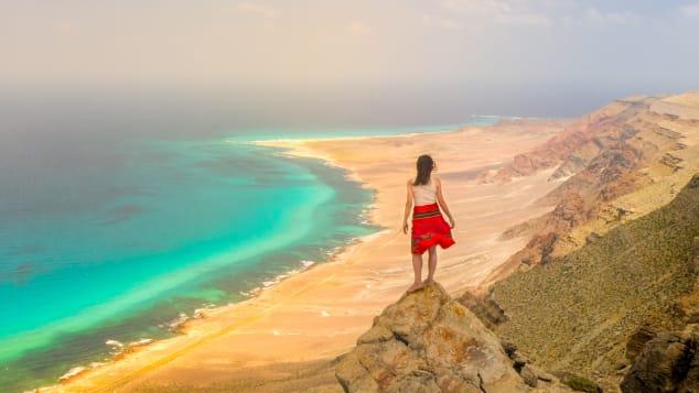 YouTube travel vlogger Eva zu Beck arrived on Socotra on March 11.