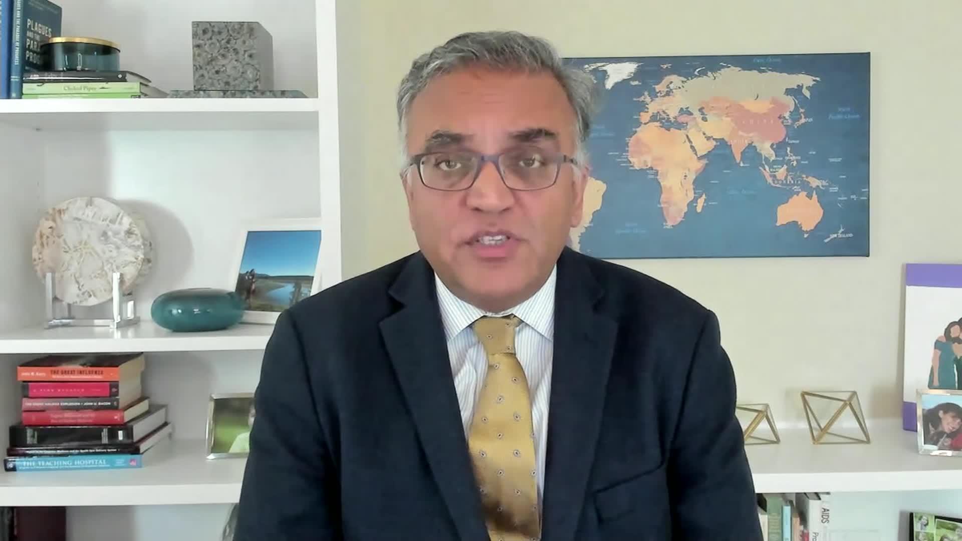 Dr. Ashish Jha.