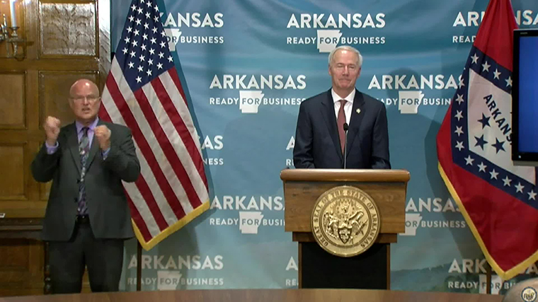Office of Governor Asa Hutchinson
