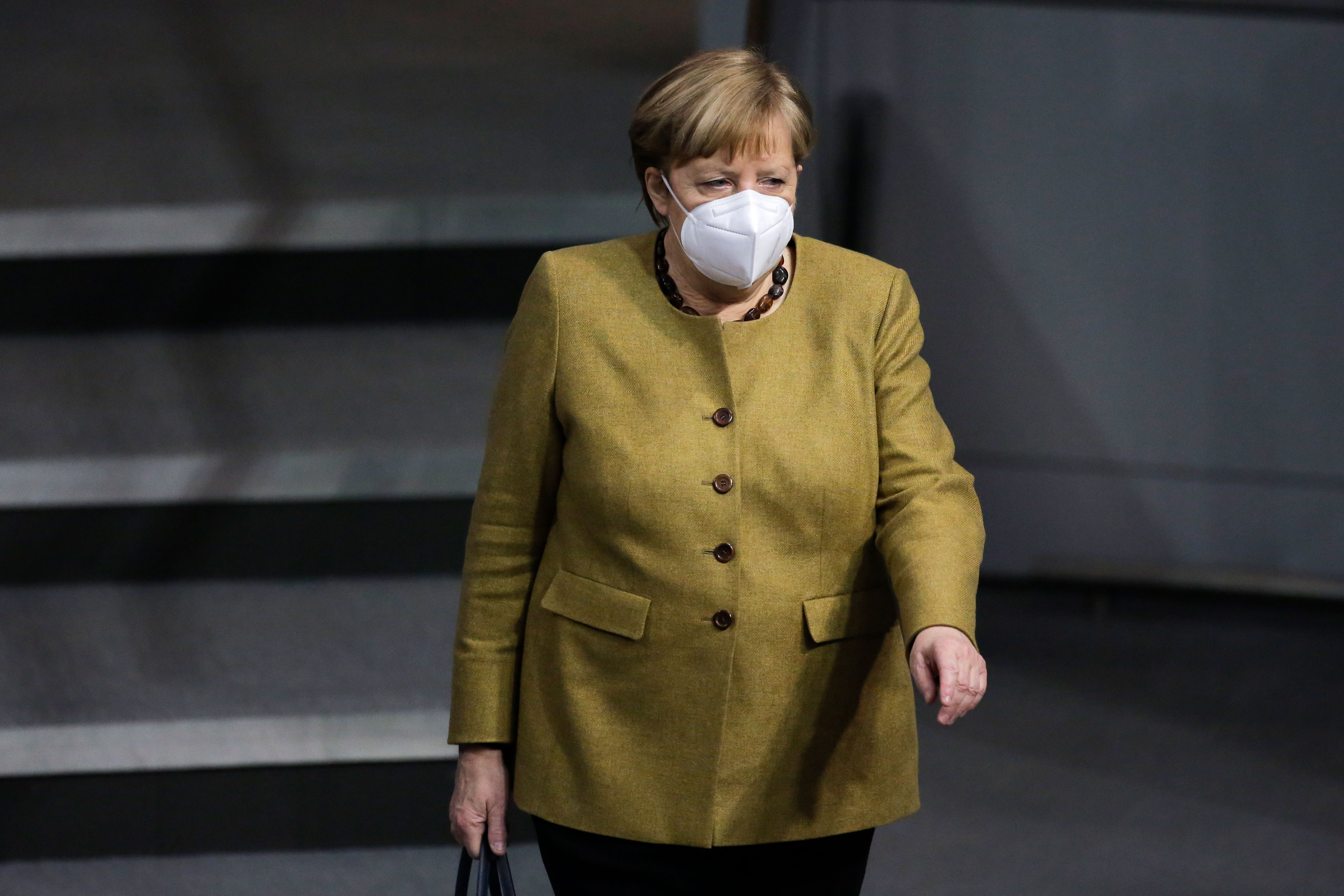 German Chancellor Angela Merkel in Berlin on March 4.