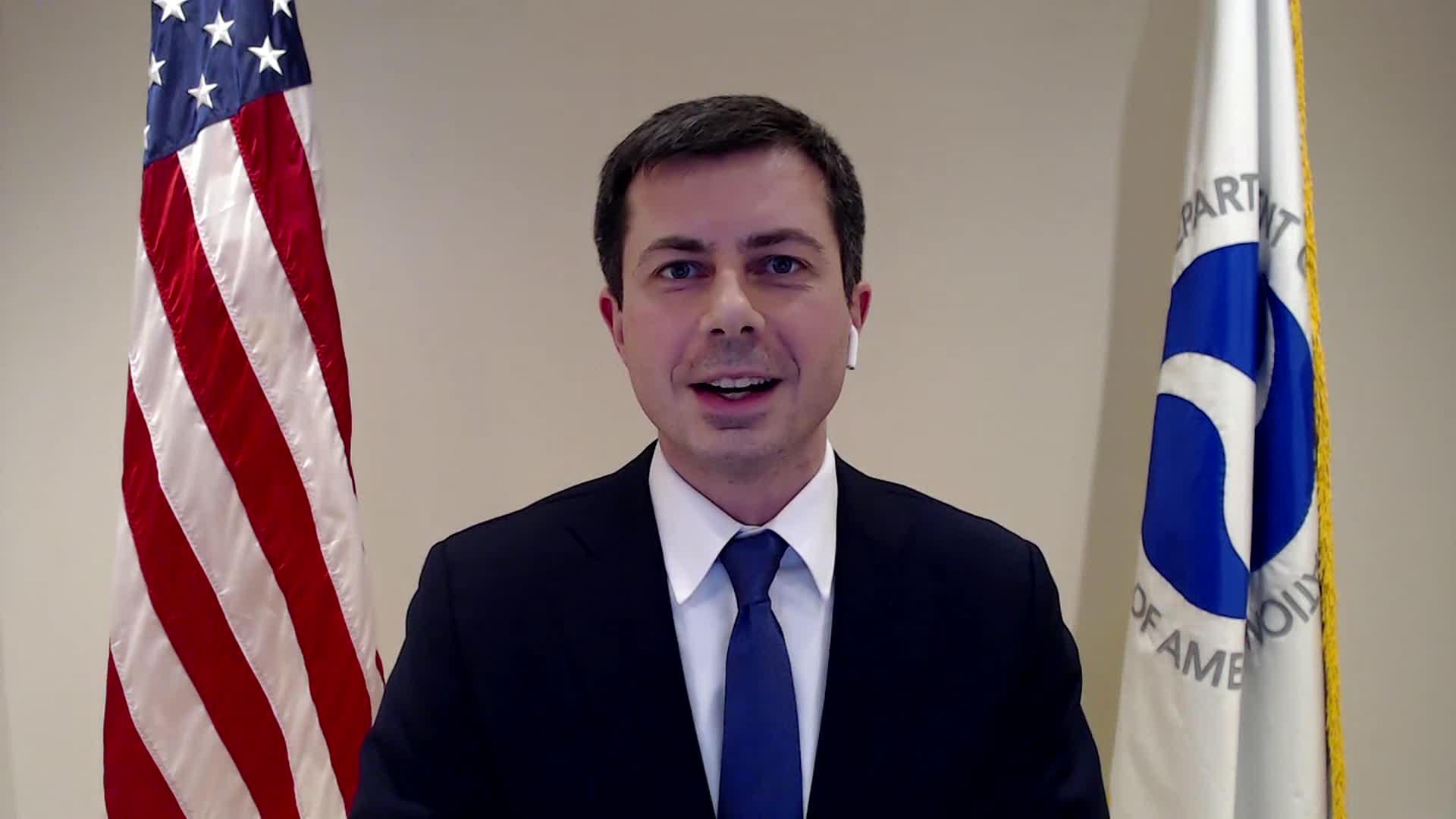Transportation Secretary PeteButtigieg.