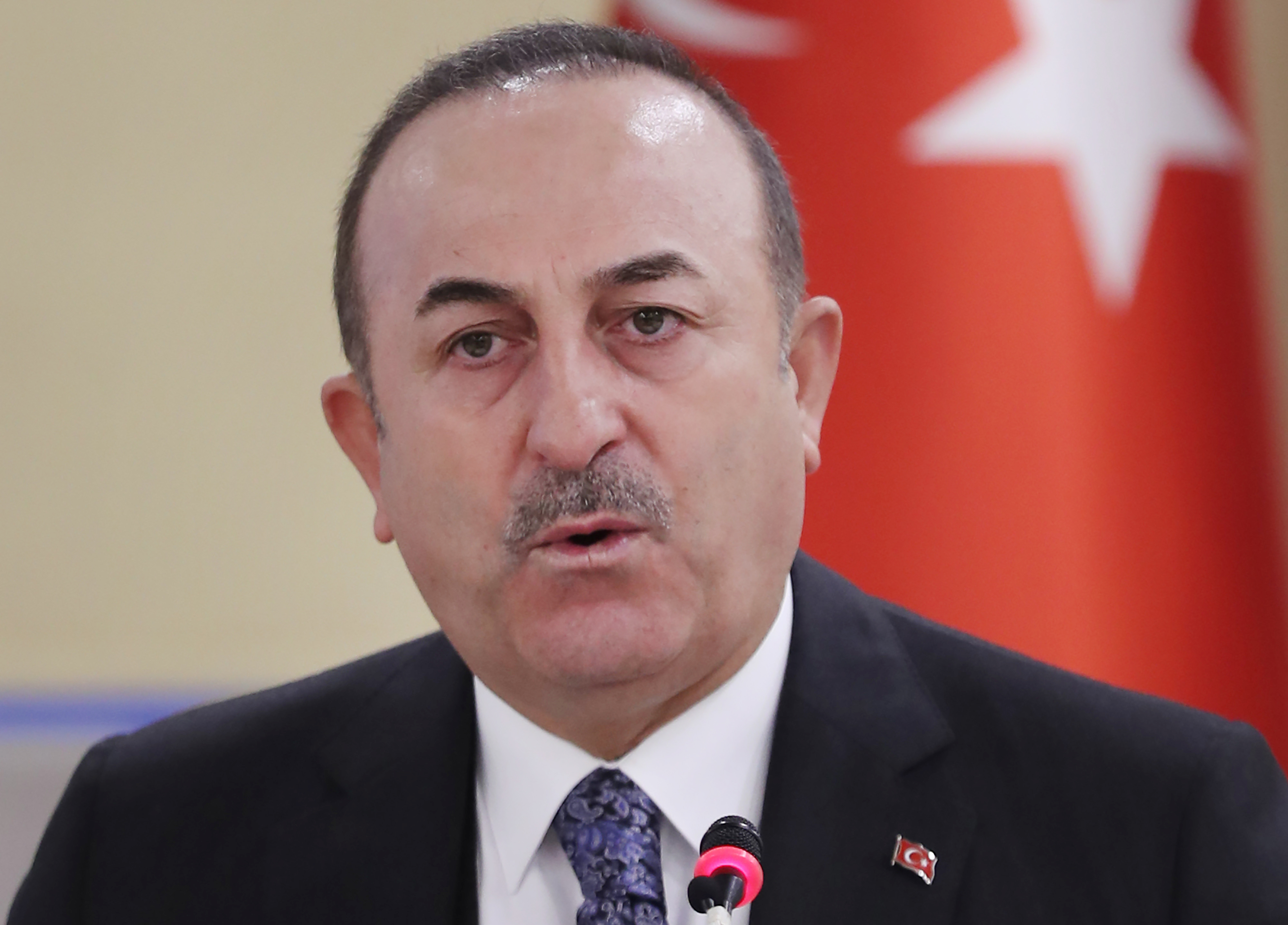 Turkish Foreign Minister Mevlut Cavusoglu issued a statement Wednesday.