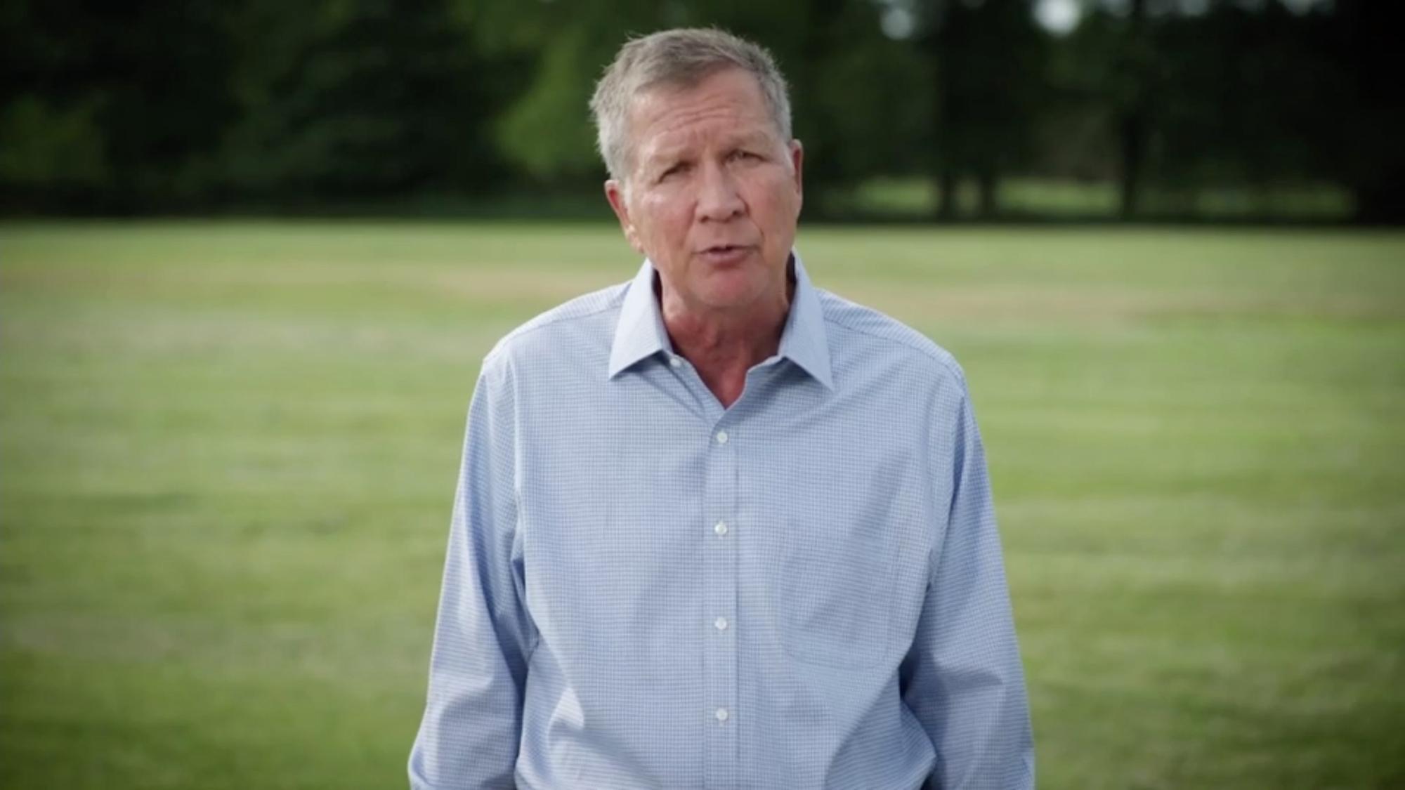 Former Ohio Gov. John Kasich.