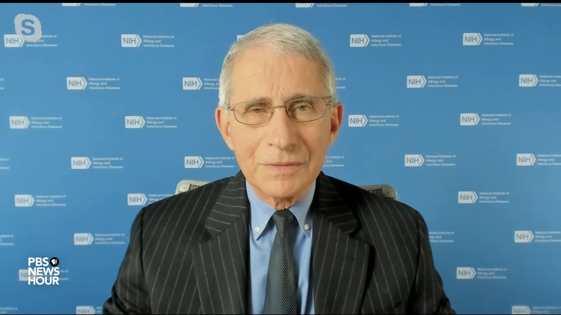Dr. Anthony Fauci, the director of the National Institute of Allergy and Infectious Diseases.