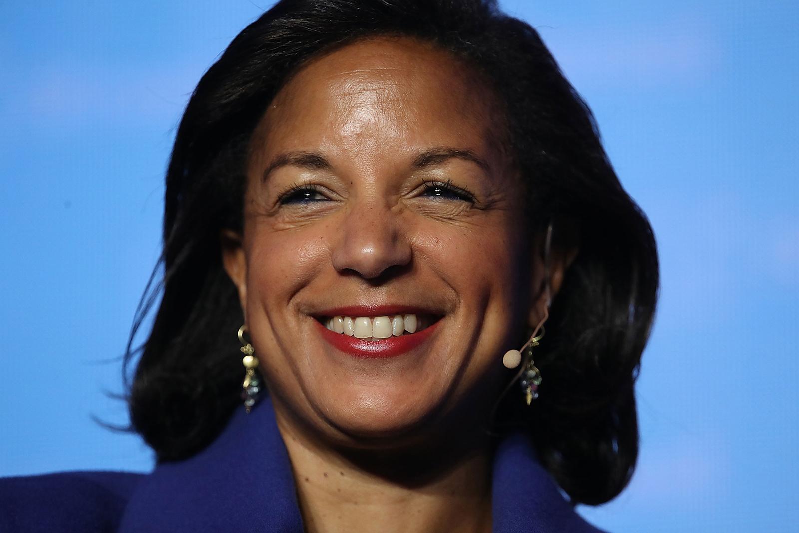 Former National Security Advisor Susan Rice speaks at the J Street 2018 National Conference April 16, 2018 in Washington, DC.
