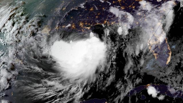 Tropical Storm Barry Floods Block Road to Coastal Louisiana Towns