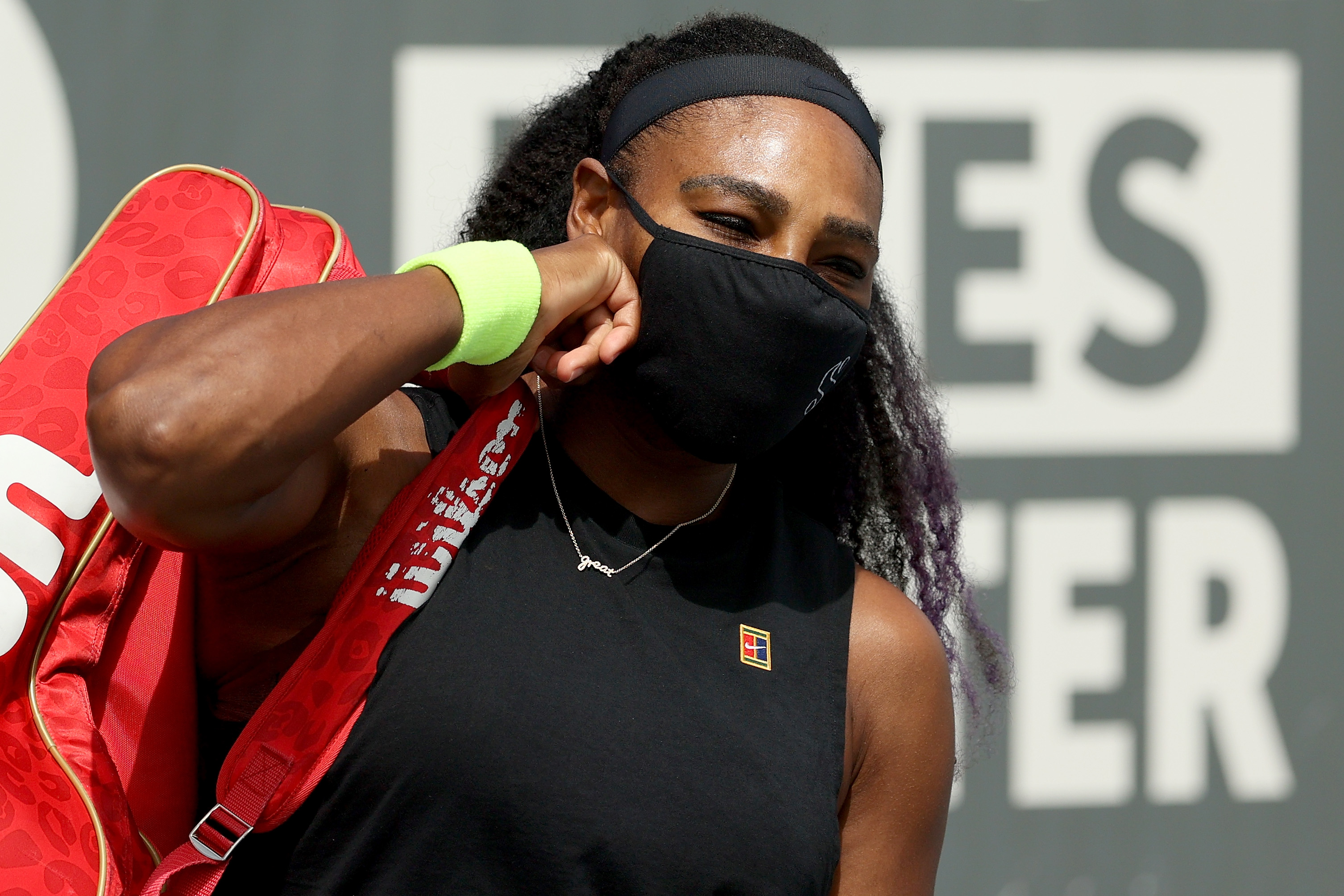 Serena Williams has chosen private accommodation over the US Open hotel provided for players after past health scares including pulmonary embolisms.
