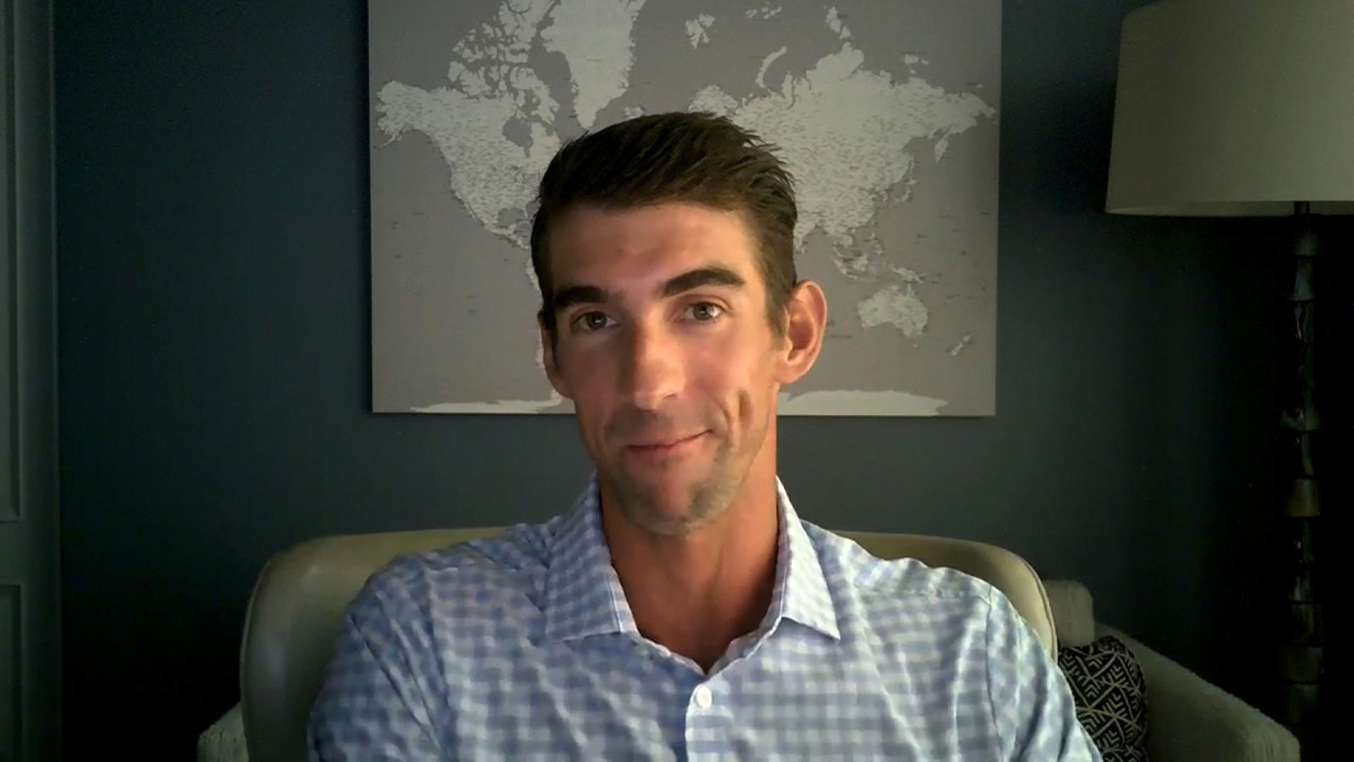 Olympic gold medalist Michael Phelps speaks with CNN on August 6.