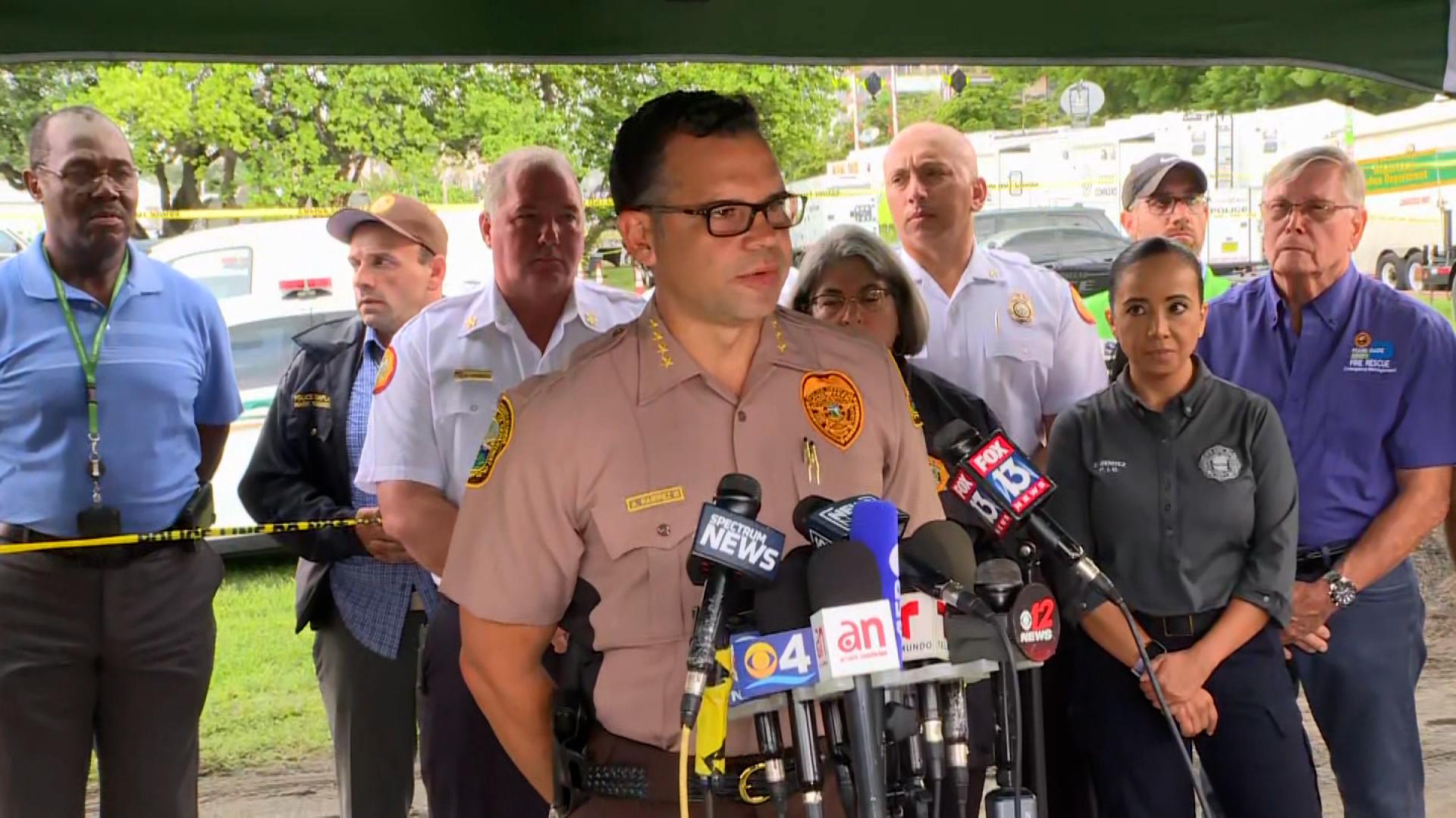 Miami-Dade Police Director Freddy Ramirez.