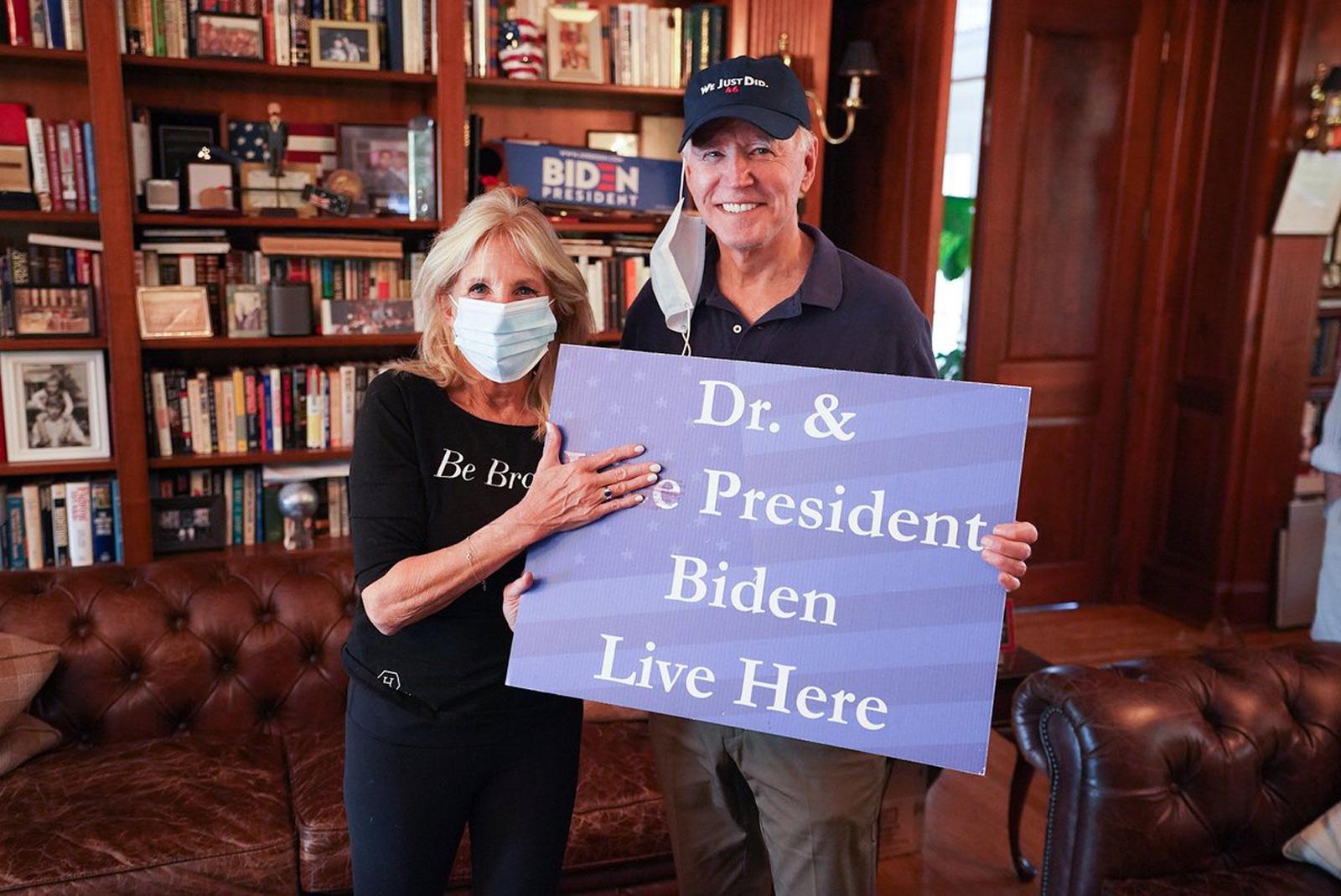 From Dr. Jill Biden/Twitter