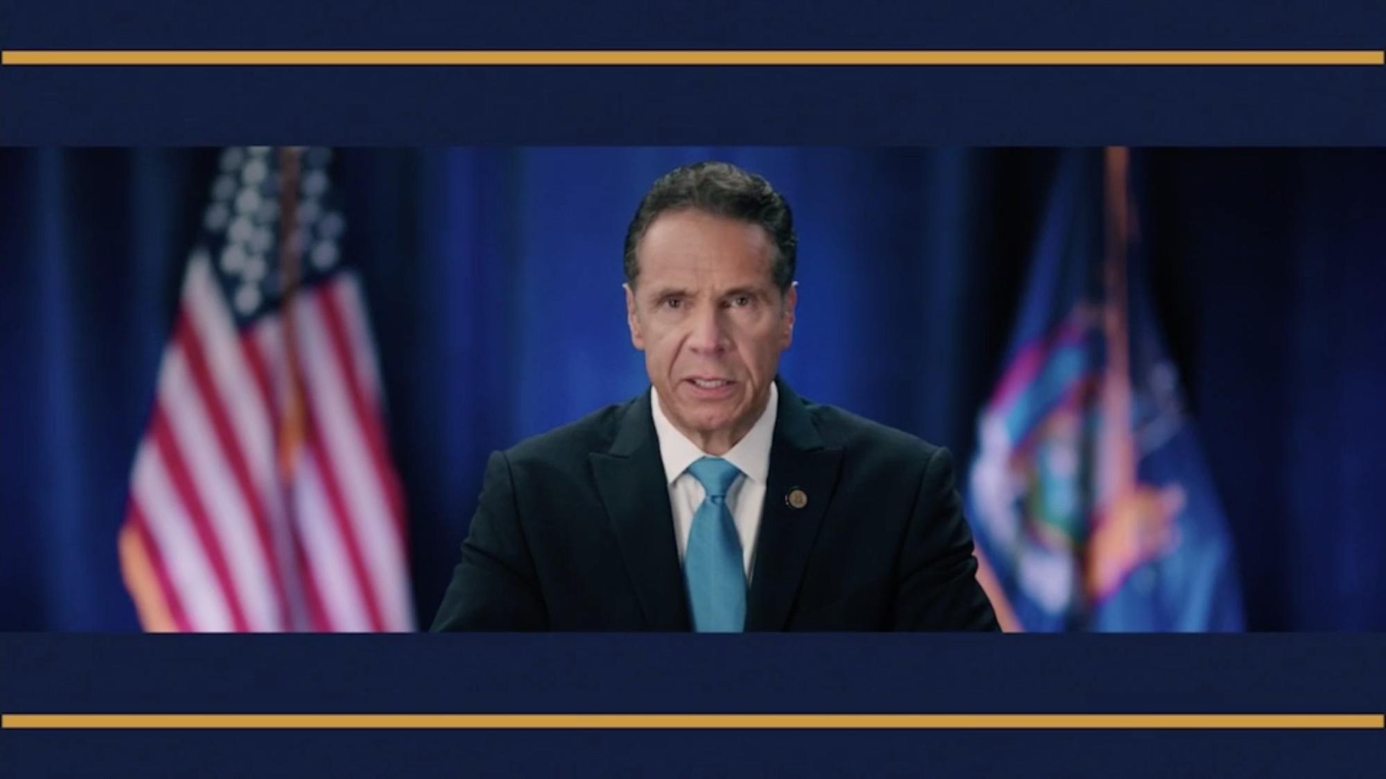 New York Gov. Andrew Cuomo.
