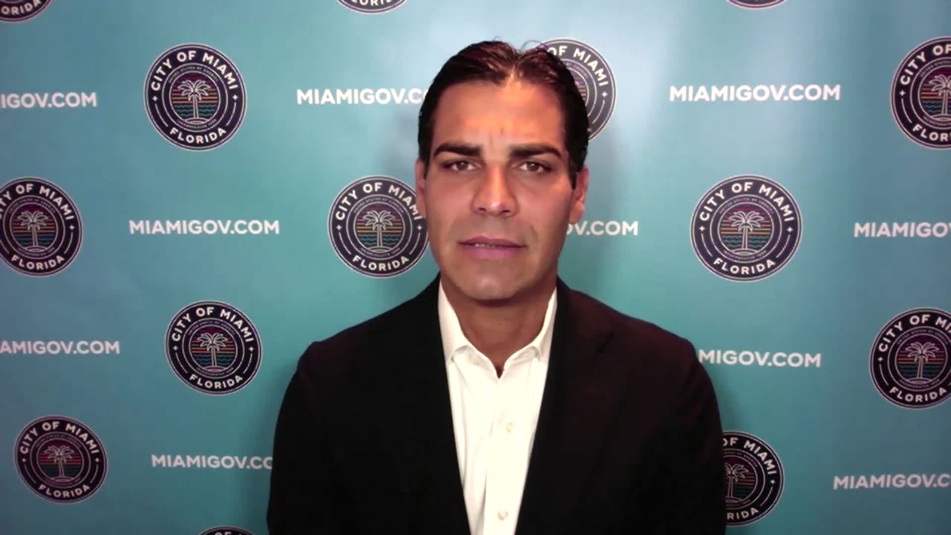 Miami Mayor Francis Suarez speaks with CNN on Monday, September 7.