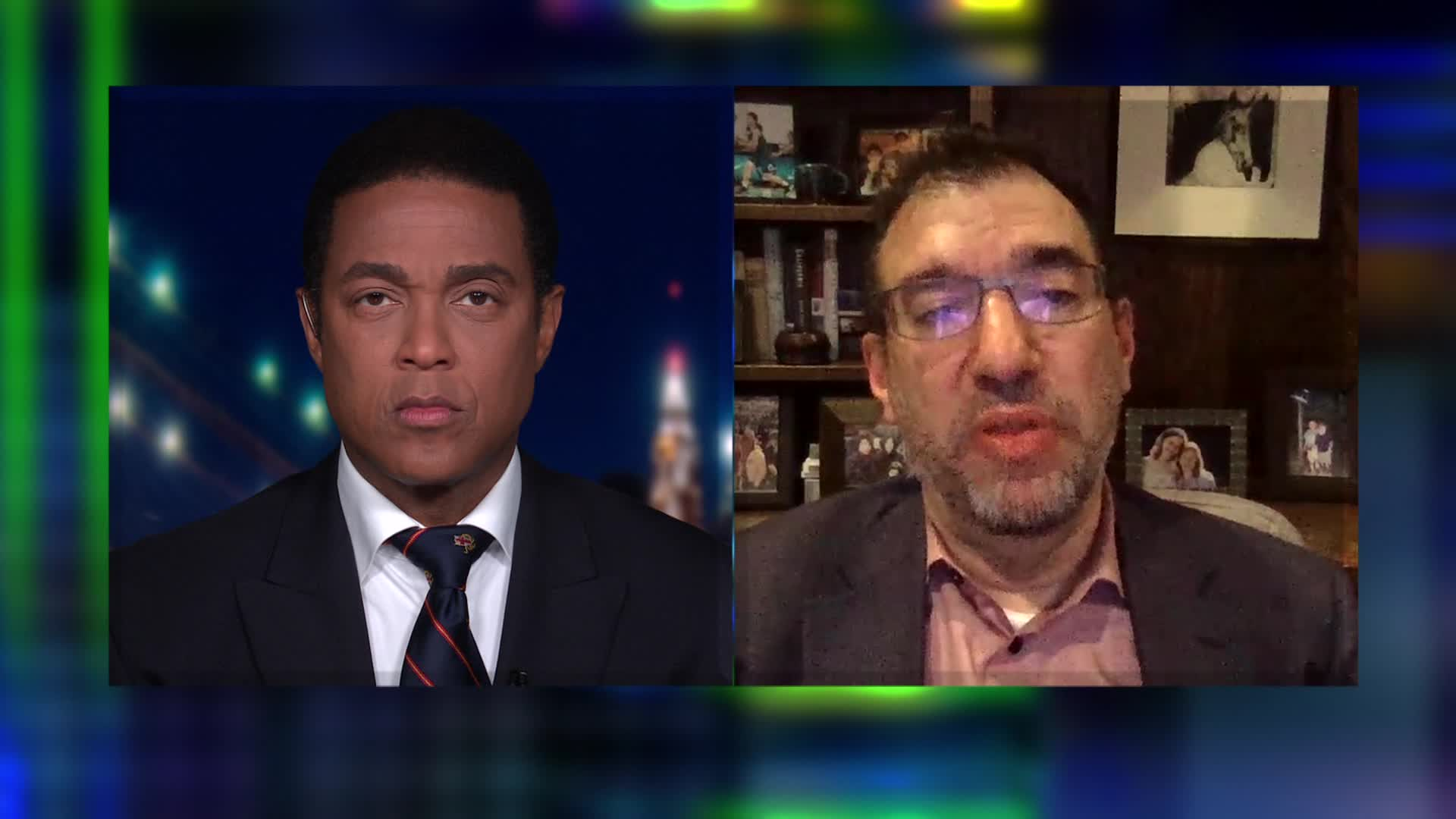 CNN's Don Lemon (left) and Andy Slavitt, former acting director of the Centers for Medicare and Medicaid Services.