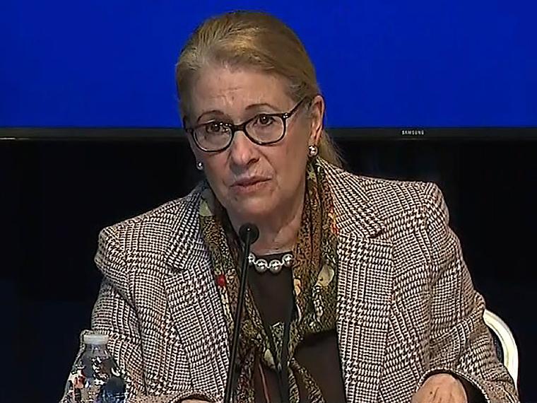 Health Commissioner Judy Persichilli