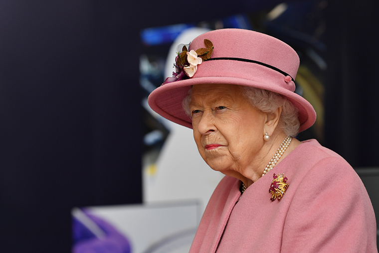 Queen Elizabeth II on October 15, 2020.