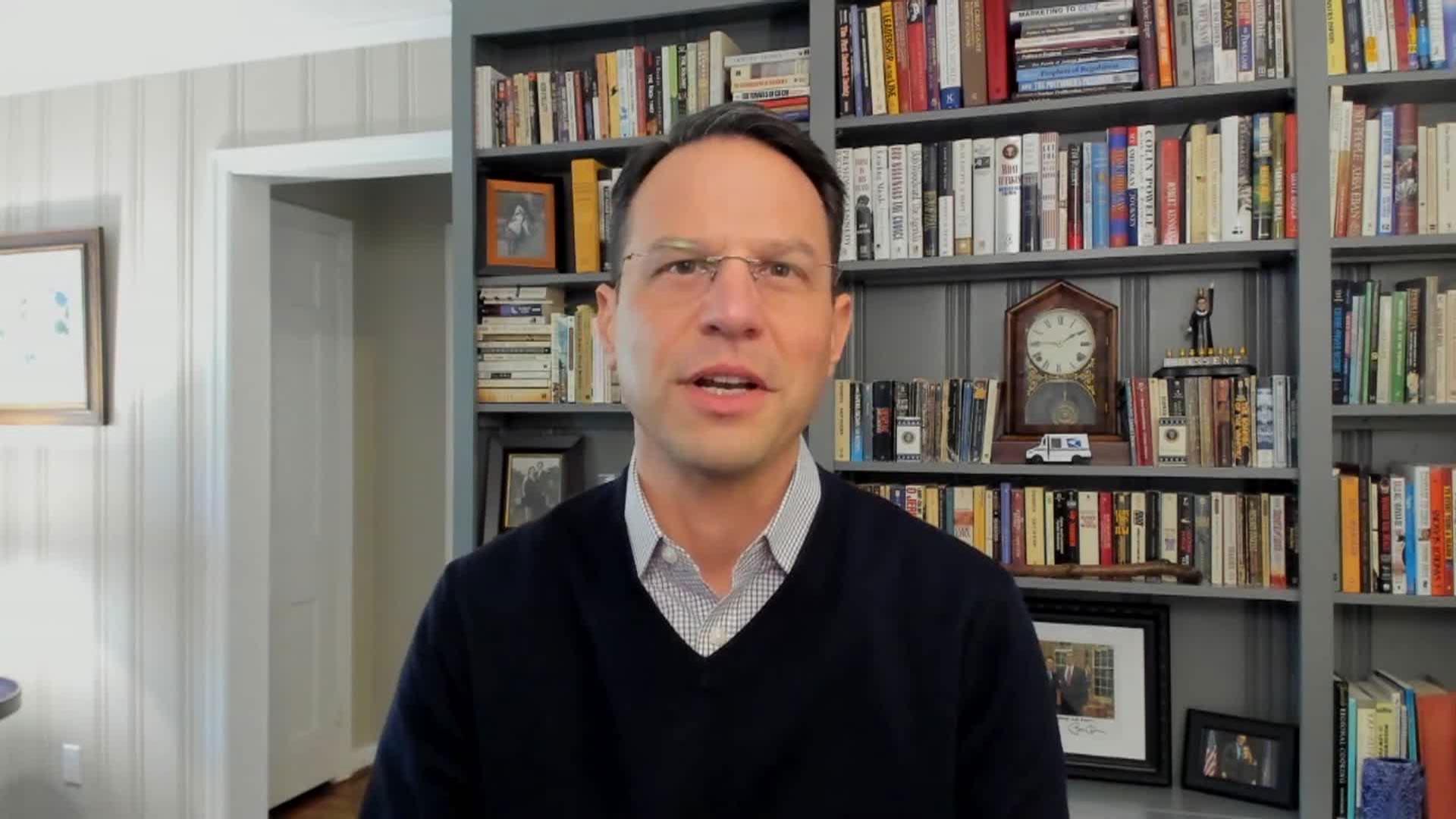 Pennsylvania attorney general Josh Shapiro speaks with CNN on Friday, November 6.