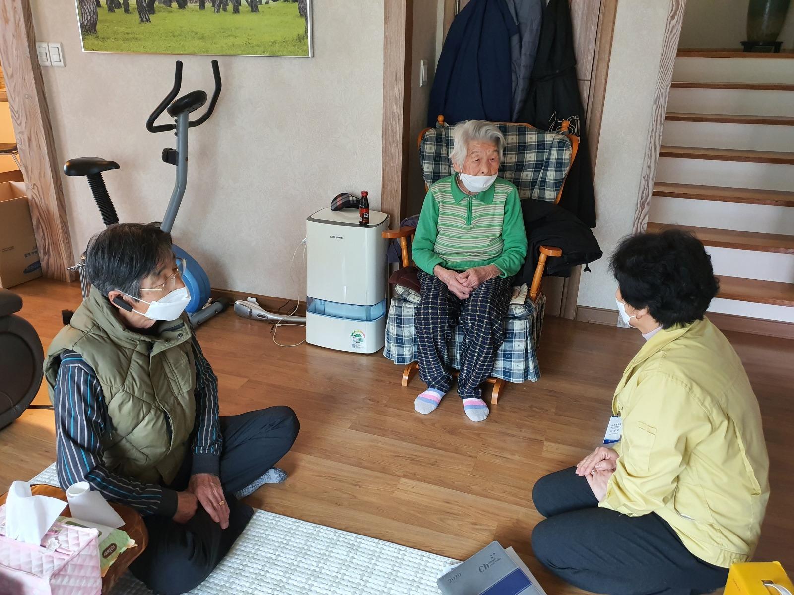 96-jährige Frau ist heute ältesten Südkoreanische vollständig wiederherstellen aus coronavirus