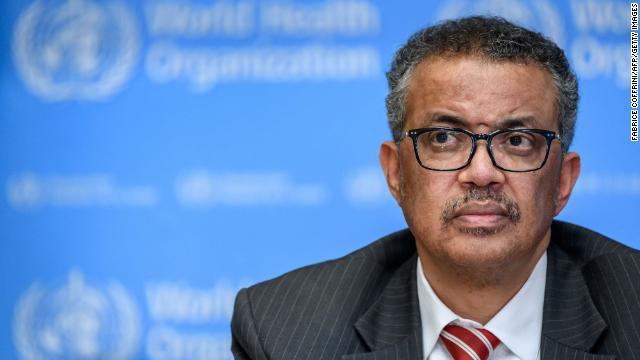 TedrosAdhanom Ghebreyesushelms the World Health Organization (WHO).