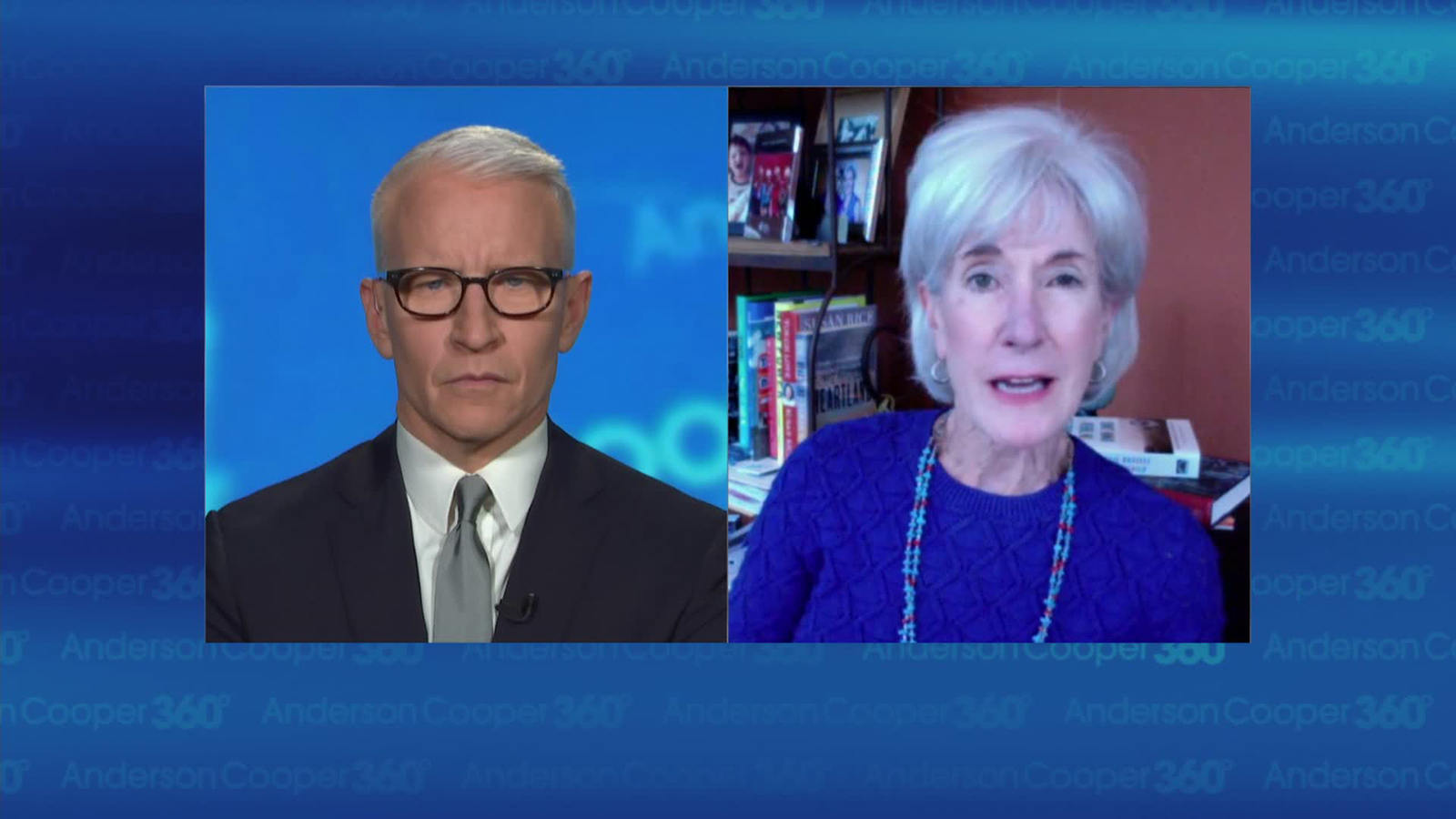 Kathleen Sebelius talks to CNN's Anderson Cooper.