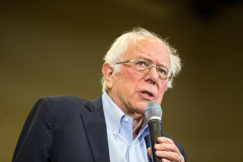 "Vermont Sen. Bernie Sanders criticized President Donald Trump for starting ""an unauthorized war with Iran."""