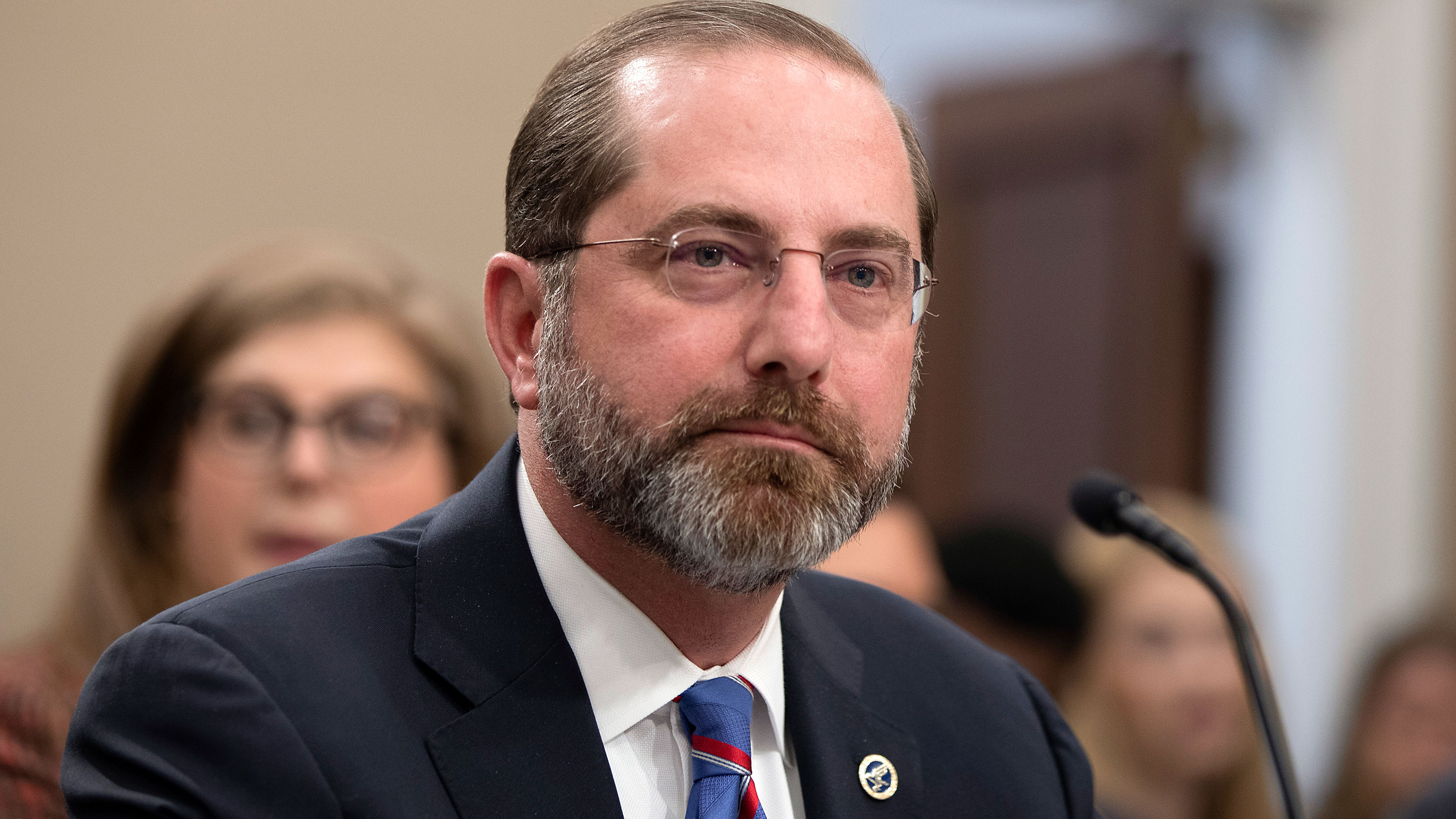 Department of Health and Human Services Secretary Alex Azar at the House Appropriations Committeehearing on February 26.