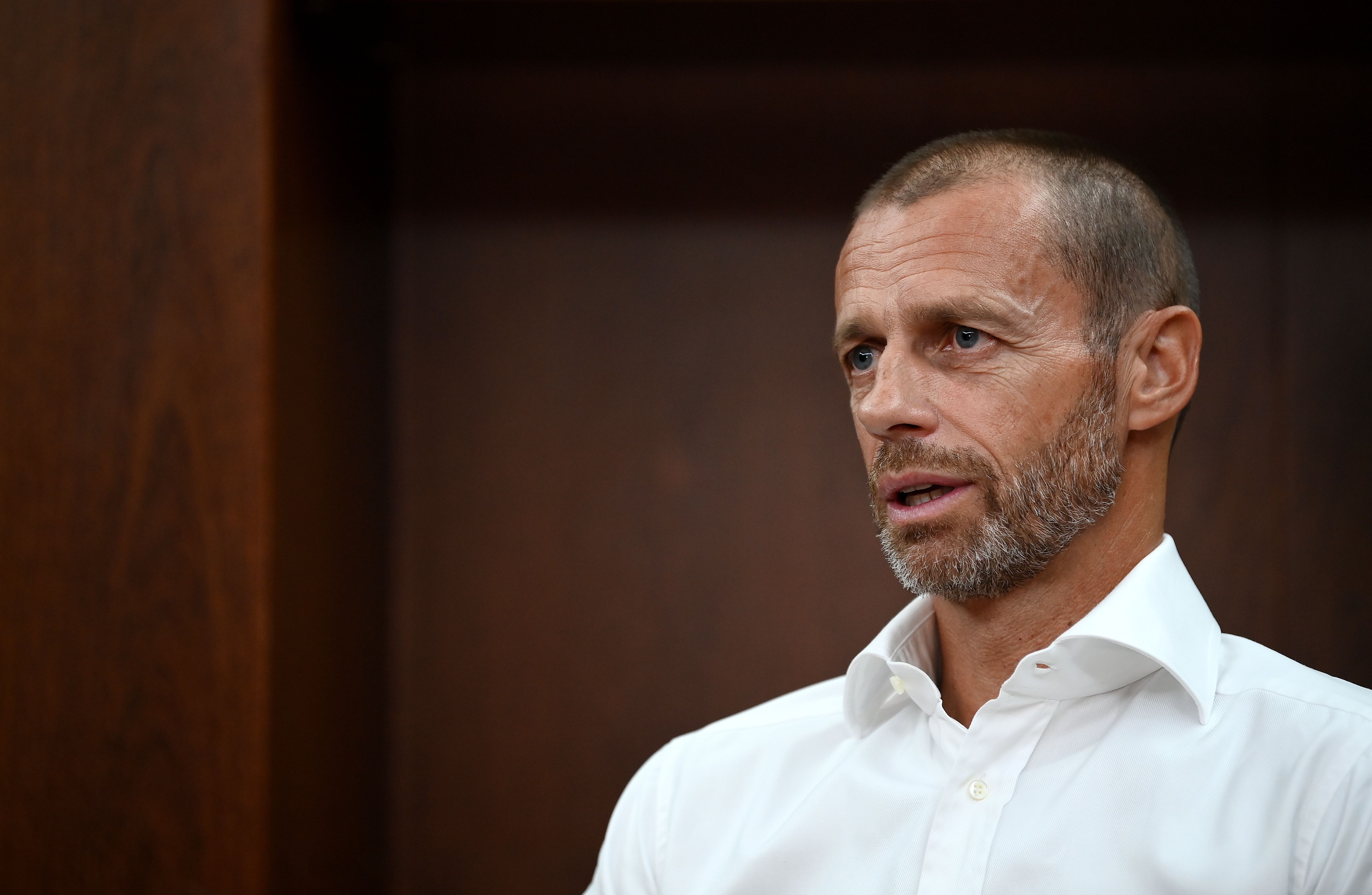 UEFA President Aleksander Čeferin gave an extraordinary press briefing on Monday.