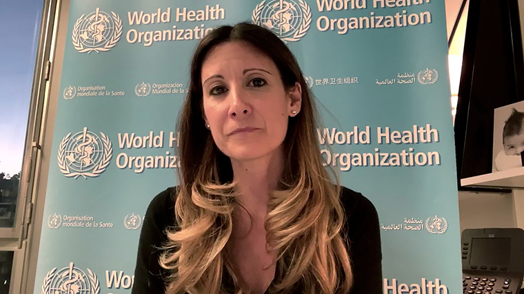 Maria Van Kerkhove, the technical lead for the Covid-19 response at the World Health Organization