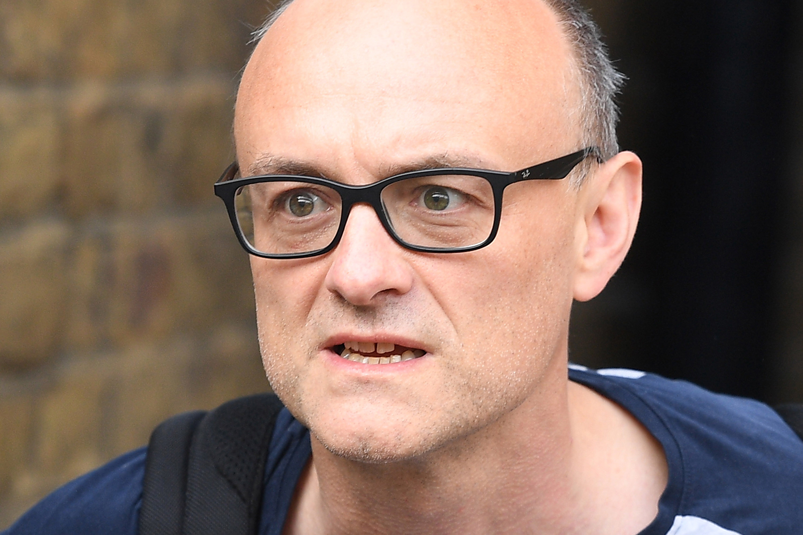 Dominic Cummings, Chief Advisor to Prime Minister Boris Johnson, in London on May 26.