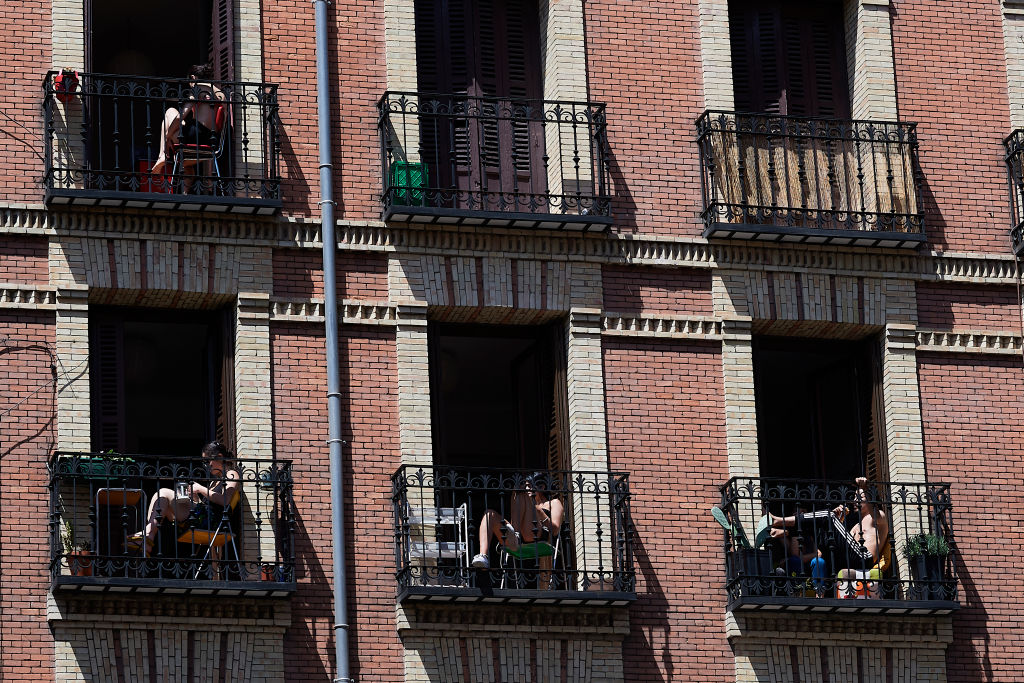 Spain's children are allowed out of their homes for the first time since lockdown
