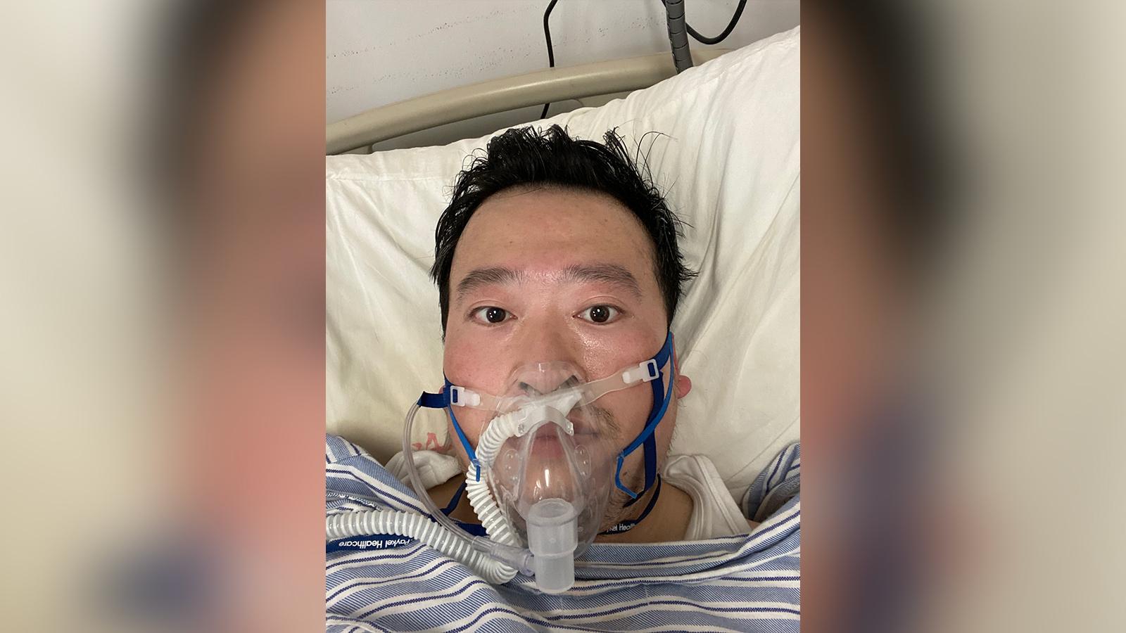 Wuhan doctor Li Wenliang.