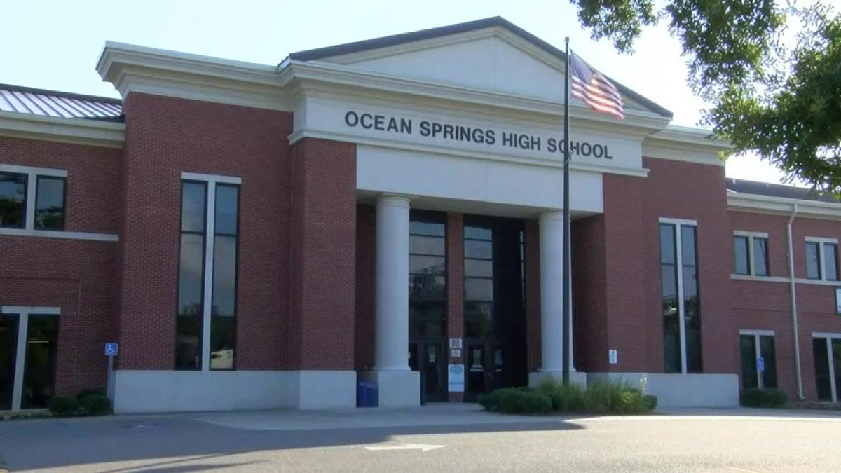 Ocean Springs High School in Ocean Springs Mississippi, on October 18.