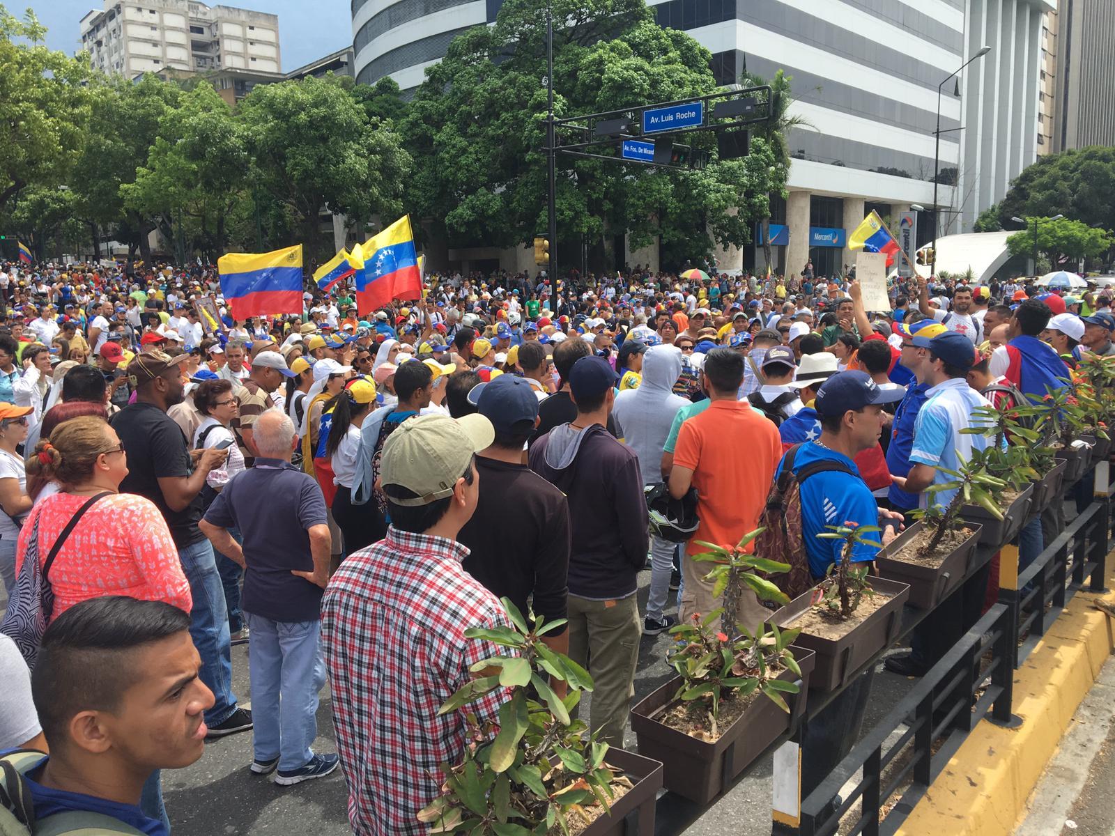 Altamira Square, Caracas