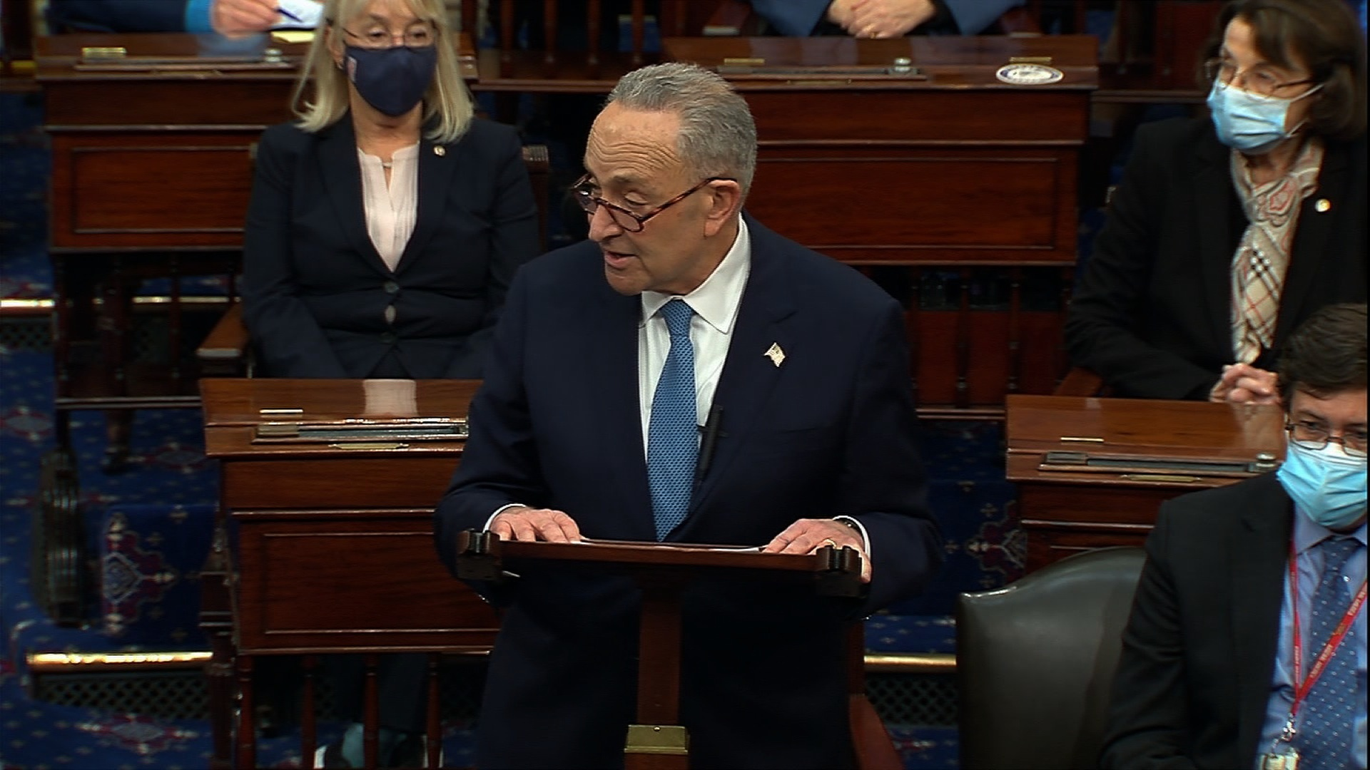 Senate Minority Leader Chuck Schumer.