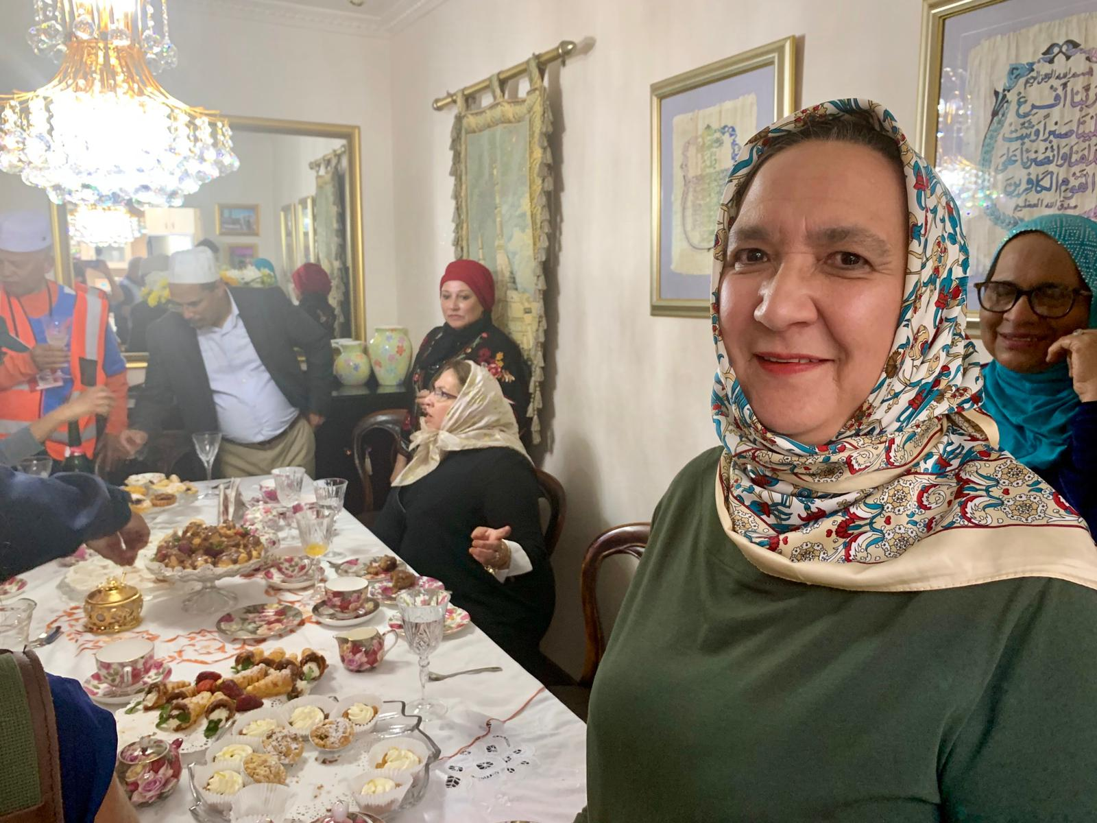 Nazli Edross-Fakier met Harry and Meghan when they visited her sister's home in Bo-Kaap, Cape Town.