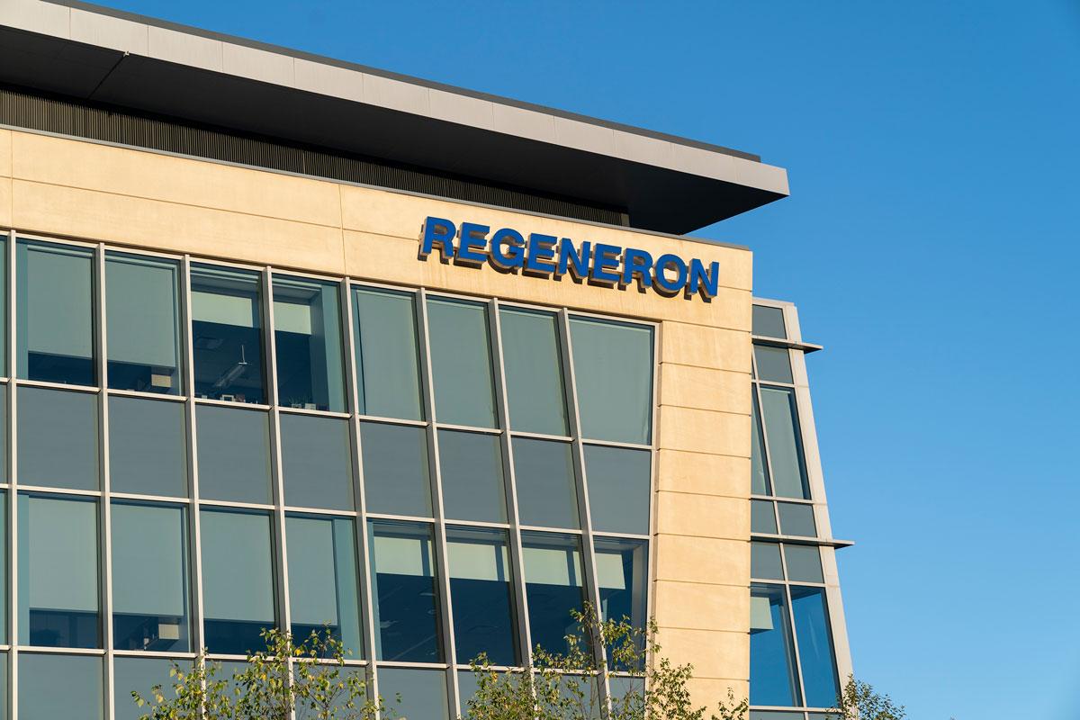 Regeneron Pharmaceuticals headquarters in Tarrytown, New York.